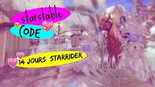 star stable code pour etre star rider