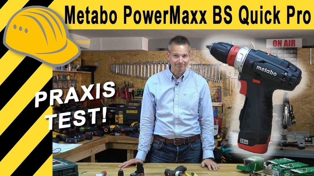 akkuschrauber test 10 8v metabo powermaxx bs quick pro. Black Bedroom Furniture Sets. Home Design Ideas