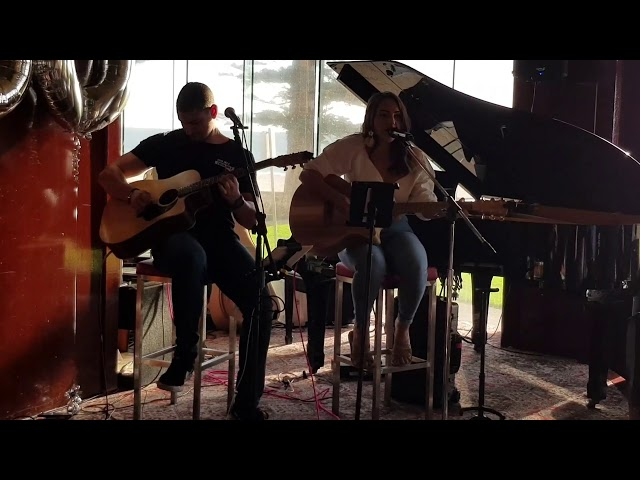 Double Trouble Acoustic Duo Maria Maria Carlos Santana Cover