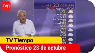 Pronóstico para este lunes 23 de octubre  | TV Tiempo