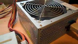 Running the ATX power supply without a computer | Запуск Блока питания ATX без Компьютера
