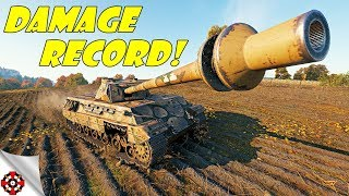 World of Tanks - P.44 Pantera DAMAGE RECORD! (WoT P.44 Pantera Gameplay)