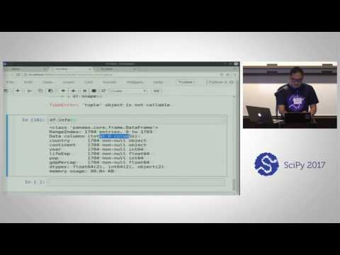 Pandas for Data Analysis | SciPy 2017 Tutorial | Daniel Chen