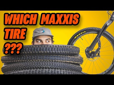 Mountain Bike Tires: Maxxis Tire Guide for 2020