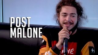 Post Malone Speaks On Working w/ Kanye West & Making Country Music!
