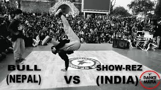 b boy bull astroboyz nepal vs b boy show rez top 16 power of youth vol 3 darjeeling 2017