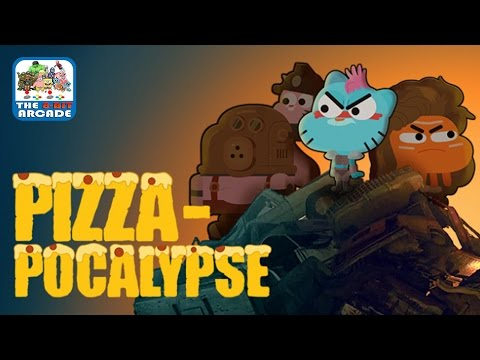 The Amazing World of Gumball: Pizza-pocalypse - Find Larry And Stop The Apocalypse (Gameplay)