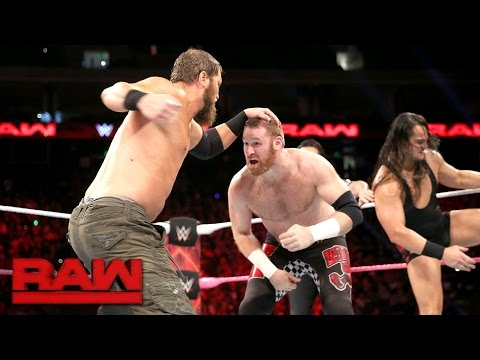 Sami Zayn & Neville vs. Bo Dallas & Curtis Axel: Raw, Oct. 10, 2016