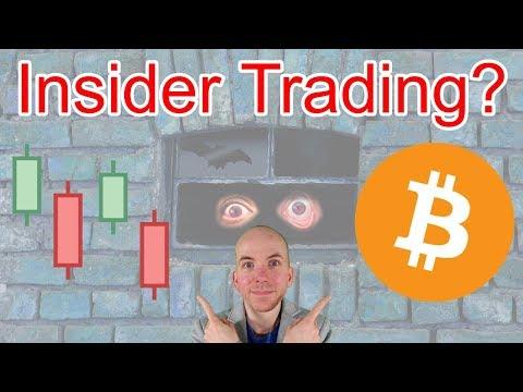 Was Bitcoin Price Drop Insider Trading Goldman Sachs News? Mp3