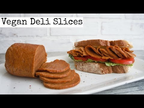 Vegan Deli Meat Slices | How to Vegan Ham | Tofurkey Style from YouTube · Duration:  6 minutes 2 seconds