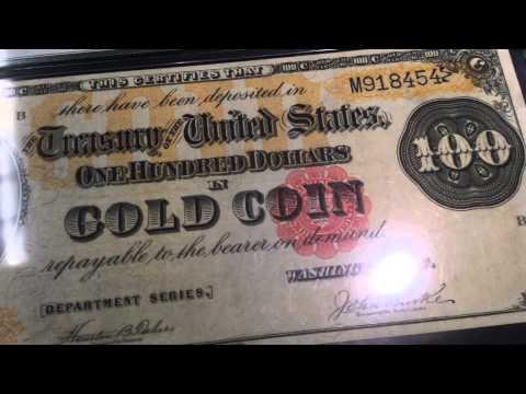 Rare Gold Certificates