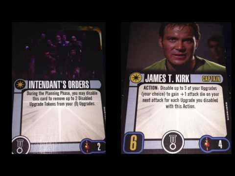 Top 10 Mirror Universe Captains -  Star Trek Attack Wing
