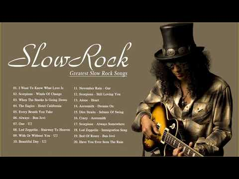 Lo Mejor de Los Clasicos del Rock en Ingles - Rock Lento En Ingles De Los 80 y 90 - Radio Rock Music