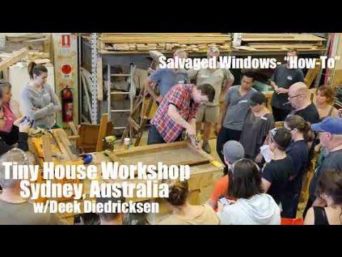 Deek Diedricksen In Australia Salvaged Cabin Windows