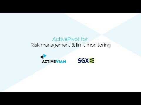 ActiveViam Connect 2017 - Lim Chew - Risk Systems Roadmp at SGX