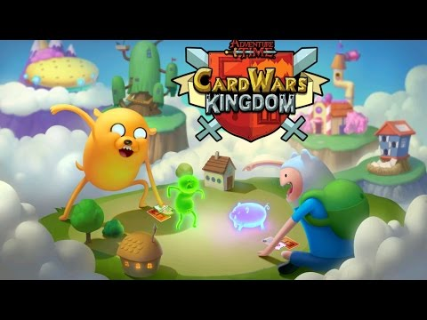 Card Wars Kingdom - Adventure Time (Turner Broadcasting System) - iOS/Android - HD Gameplay Trailer