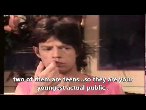 Rolling Stone Mick Jagger -  interview (European Tour) 1982