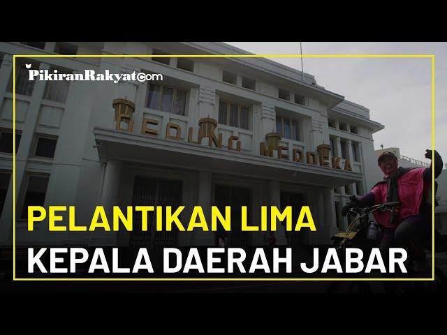 Dari Delapan Pilkada di Jawa Barat, Hanya Lima Kepala Daerah yang Dilantik Gubernur Jabar