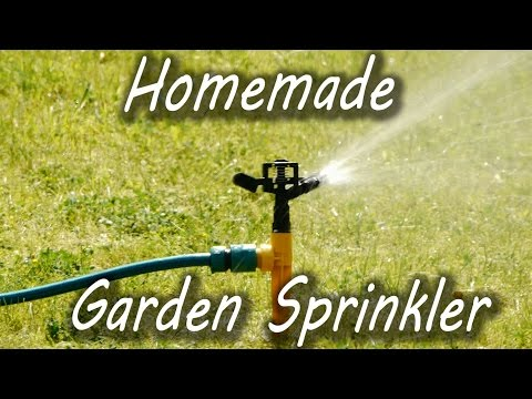 How to Make a Garden Sprinkler