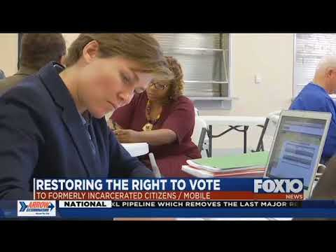 Legal help to restore voting rights