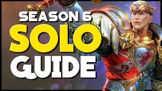 So You Want to be a Solo Main? | The Comprehensive Guide to Solo Lane for Smite Season 6!