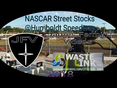 (NASCAR) Street Stocks #8, Heat 1, Humboldt Speedway, 06/22/18