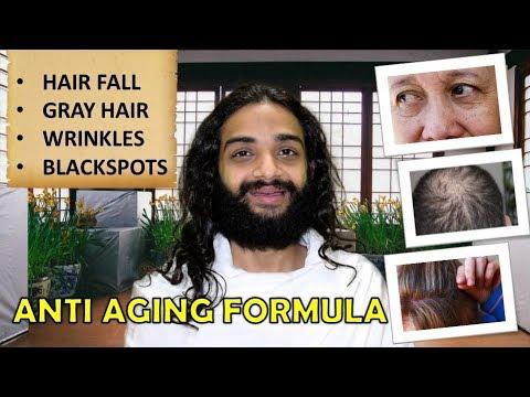 ANTI AGING FORMULA: HAIRFALL, WRINKLES, FINELINES, DARKCIRCLES & BLACKSPOTS ETC BY NITYANANDAM SHREE