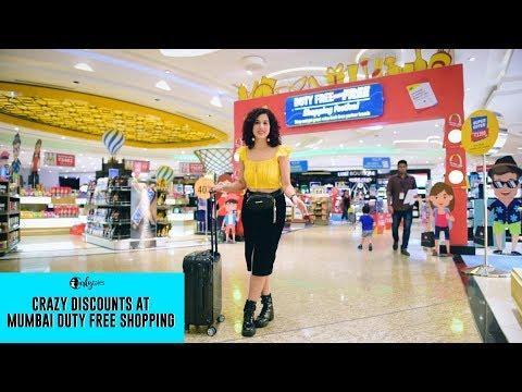Crazy Discounts At Mumbai Duty Free Shopping    Curly Tales