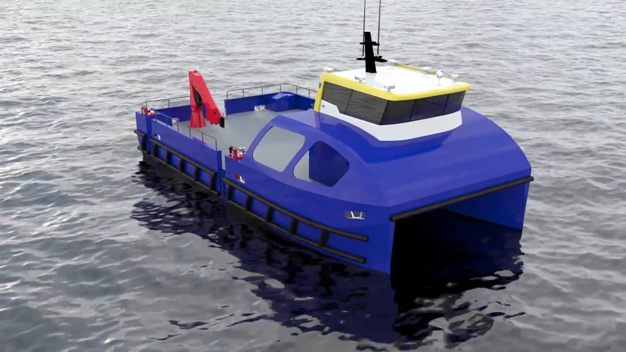 """Отображается значок видео """"ProZero 14.99 m Catamaran"""""""