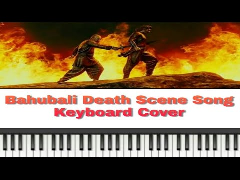 Bahubali Death scene's song on Piano
