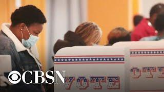 Trump and Biden in tight race in swing states ahead of final debate