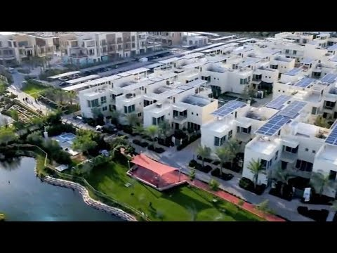 Dubai's residential community is self-sufficient in energy and water