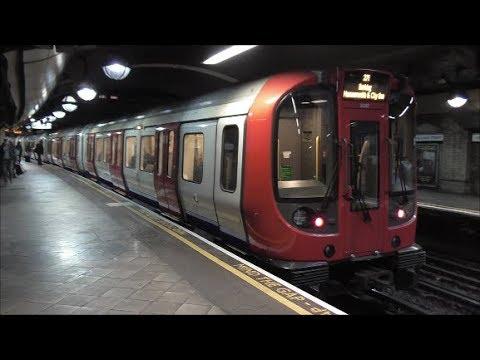 Trains @ Great Portland Street Railway Station - 13th April 2018