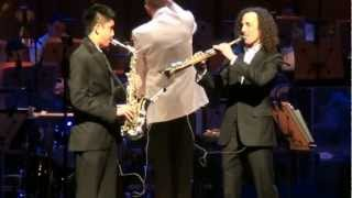 "Kenny G and Austin Gatus ""Over the Rainbow"" accompanied by Orange County"