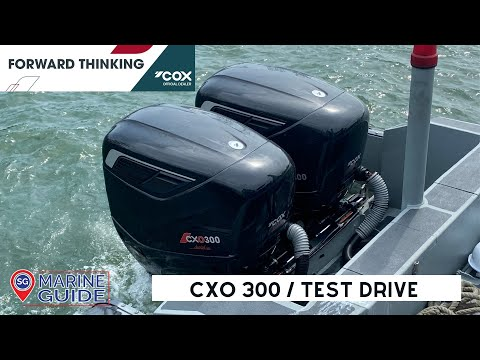 First Look at the CXO300 DIESEL OUTBOARDS in Singapore