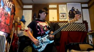 Anti-Flag Drink Drank Punk Bass Cover