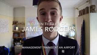 A day in the life of a Management Trainee - James