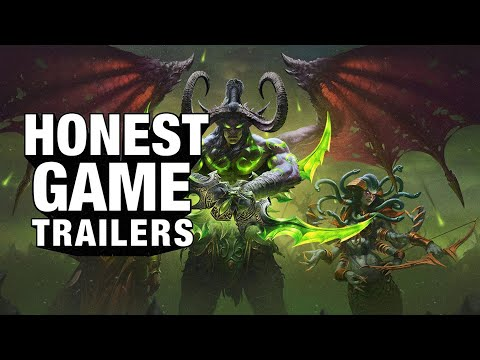 Honest Game Trailers | World Of Warcraft: The Burning Crusade Classic