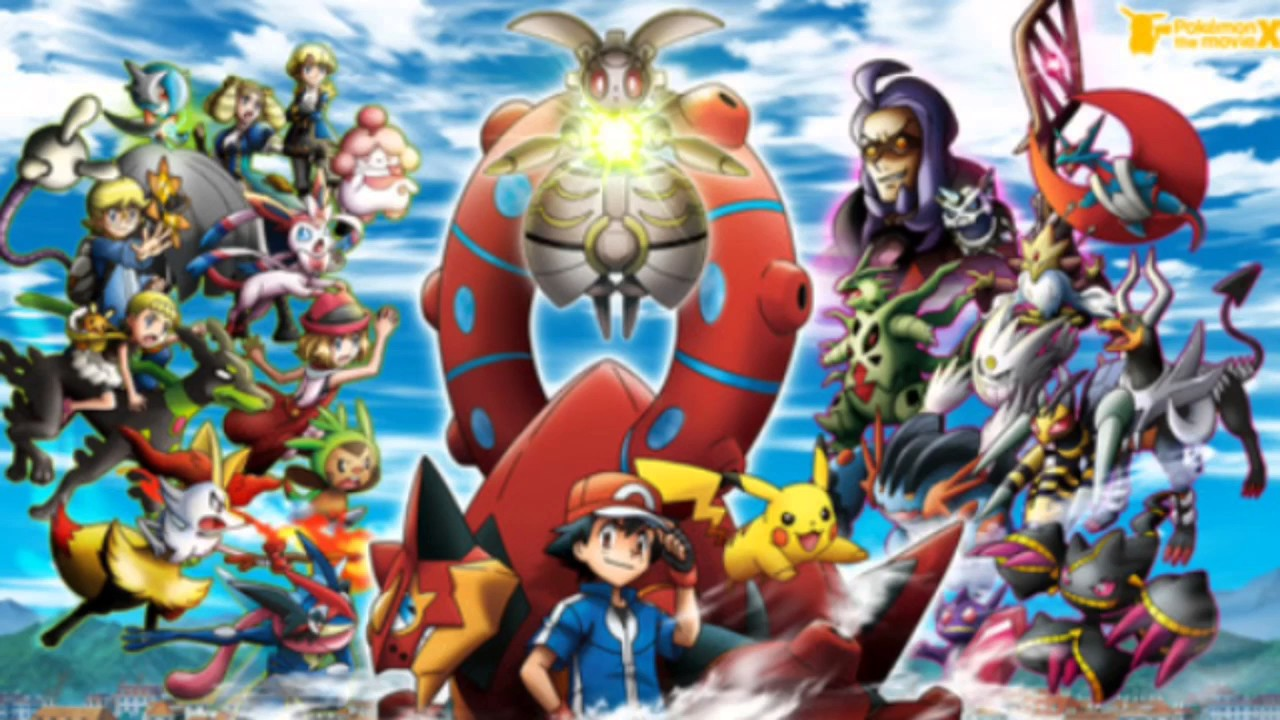 Stand Tall Opening Credits Pokemon The Movie Volcanion And