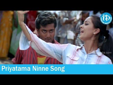 Priyatama Ninne Song - Sivaputrudu Movie Songs -Vikram - Surya - Sangeeta