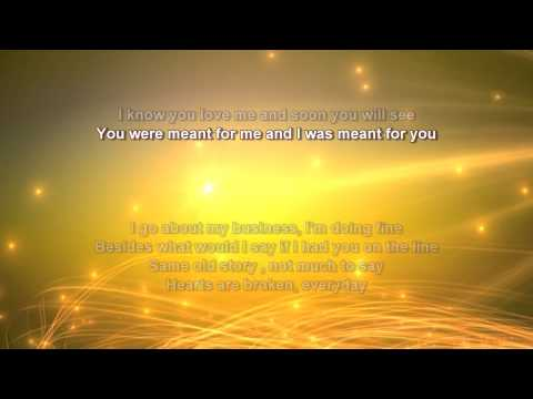 Jewel + You Were Meant For Me + Lyrics/HD