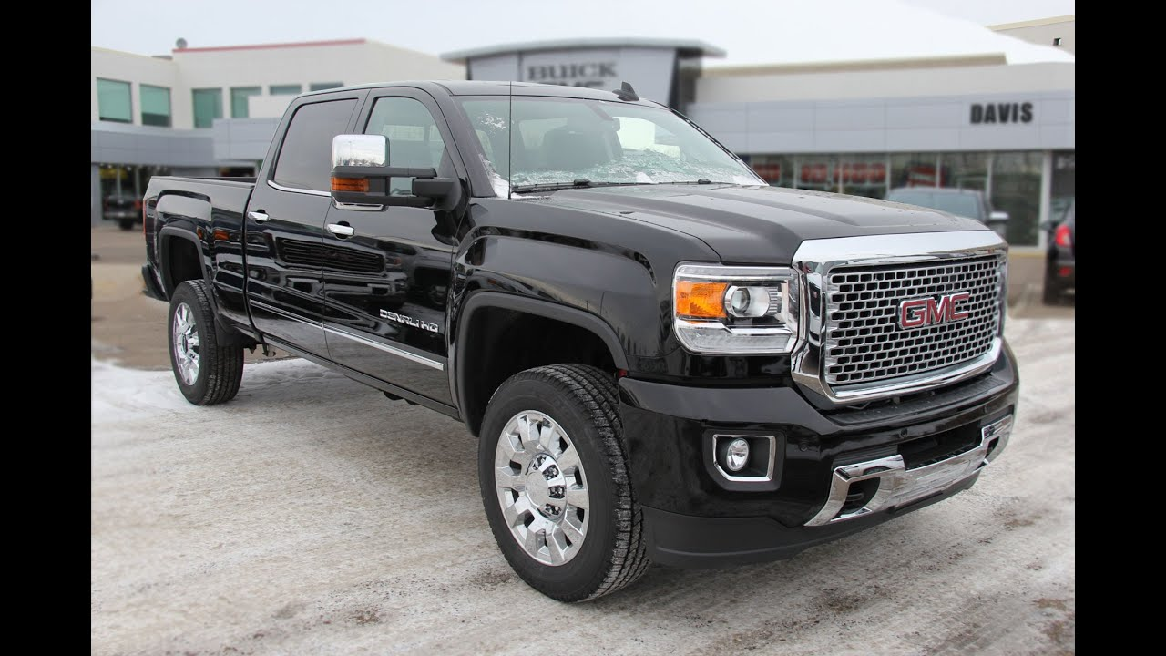 brand new 2016 gmc sierra 2500hd denali for sale in medicine hat ab youtube. Black Bedroom Furniture Sets. Home Design Ideas