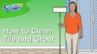 Bathroom Cleaning Hacks: Best Way to Clean Grout and Tiles - Ep. 11 | Swiffer