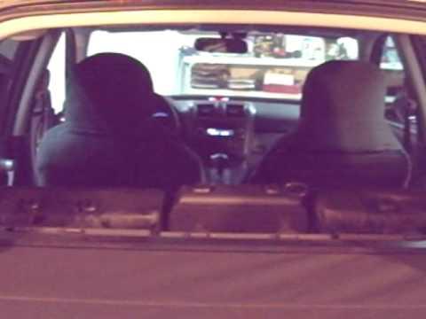 Honda CR-V + задний парктроник