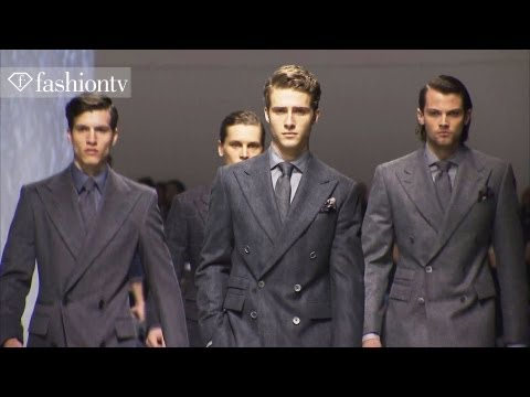 The Great Gatsby: Corneliani Men Fall/Winter 2012/13 at Milan Men's Fashion Week | FashionTV - FTV