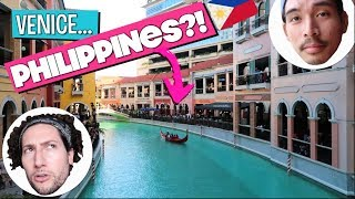We're In VENICE?? | Philippines Vlog 3
