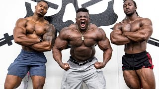 FULL POWER BACK ROUTINE WITH BLESSING AWODIBU & KWAME DUAH