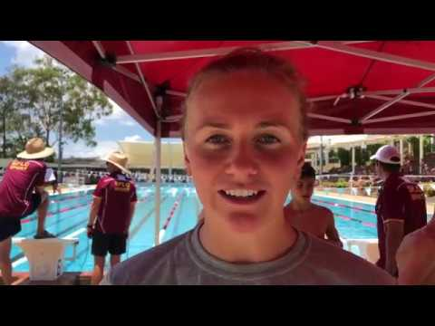 Swimming camp with gold medallist Ariarne Titmus