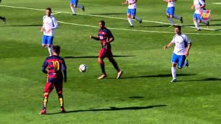 El Barça B juga un partit d'entrenament contra el Granollers