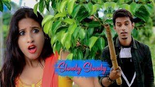 Slowly Slowly | Guru Randhawa | Pitbull ||Cute Love Story| Monojit CREATION